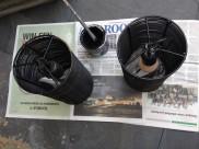 Roest verwijderen en nieuwe zwart verf staat klaar!