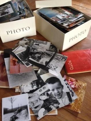 foto's selecteren uit dozen en fotoboeken