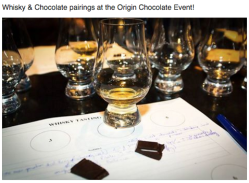 Whiskey Chocolate Pairings / Restyle Your House