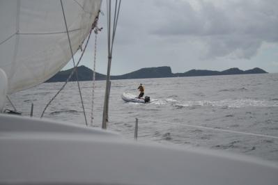 Nee he :-( Paparazzi op zee!