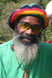 Local Friend David op Mustique
