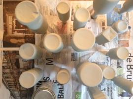 laagje acrylverf