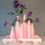 Tray roze/wit Restyle Your House