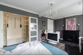 Master Bedroom + walking closet (open)