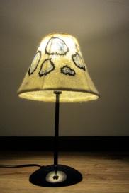 Handfelt.nl vilten lamp