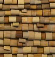 Akoestisch paneel palmleer