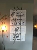 Kalligrafie / Typogafie